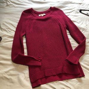 Loft long sleeve knit sweater
